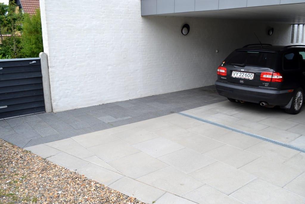 Holmegaard betonfliser i flere størrelser