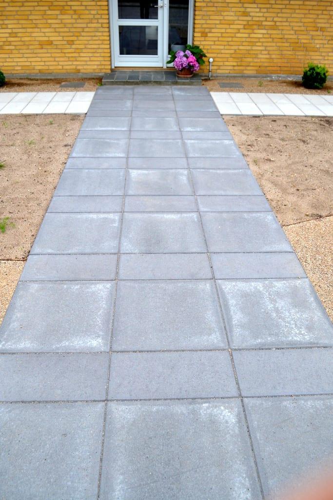 Sorte betonfliser