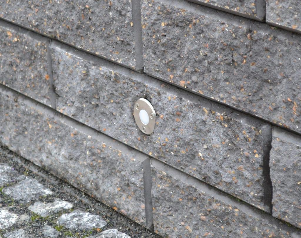 RBR beton elementer og indbygget lys