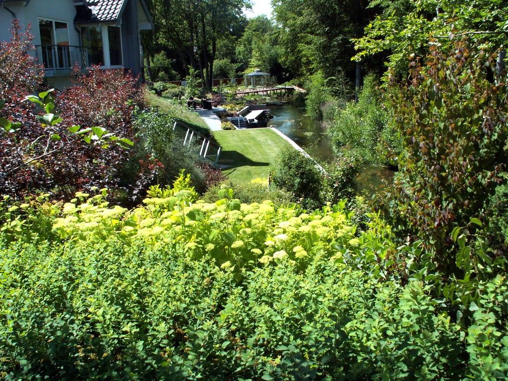 Færdig haveanlæg