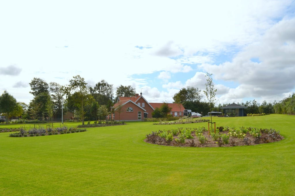 En ny græsplæne