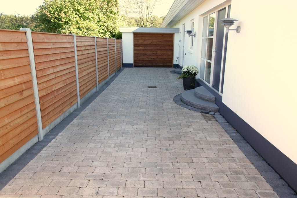 Lind beton hegn