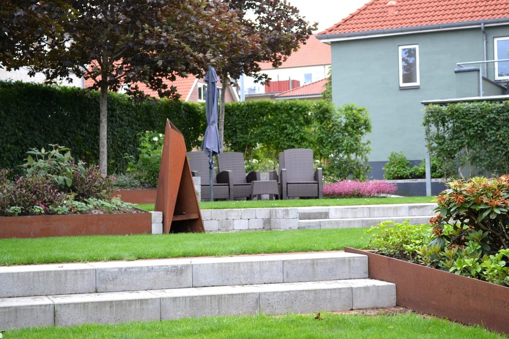 Granit trappe, Bornholmsk granit