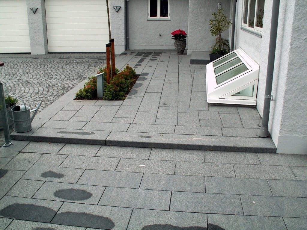 Granit trin, bornholmsk granit