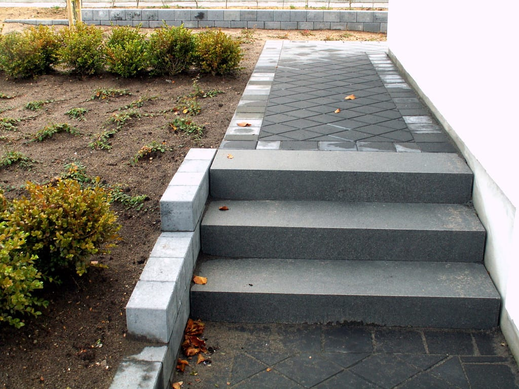 Granit trappe, standard trin