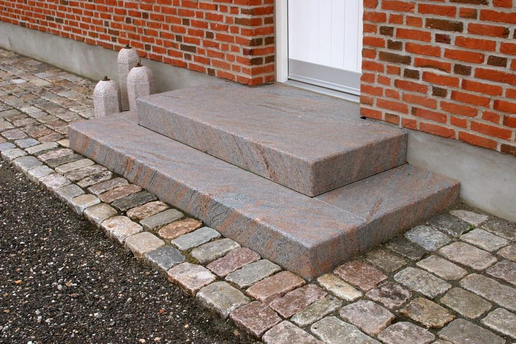 Granit trin, Svensk granit