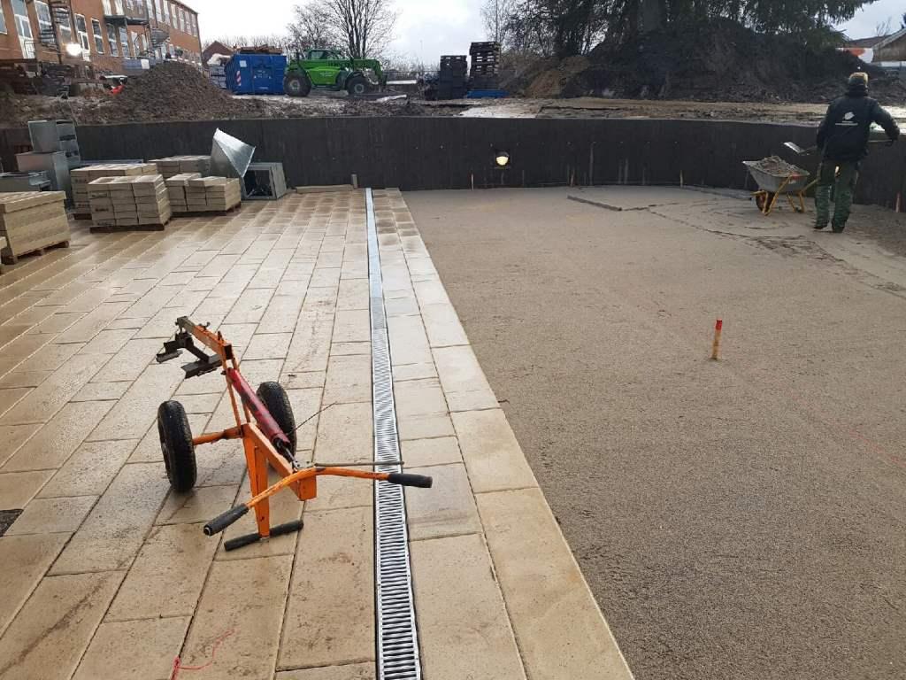 Et stort belægningsprojekt i Århus
