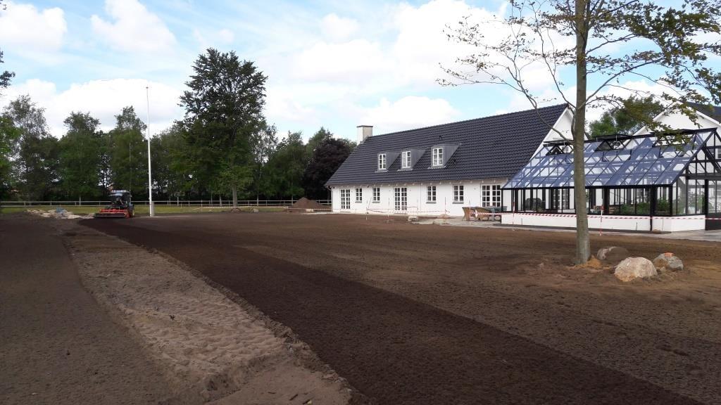 Anlæg af en ny græsplæne